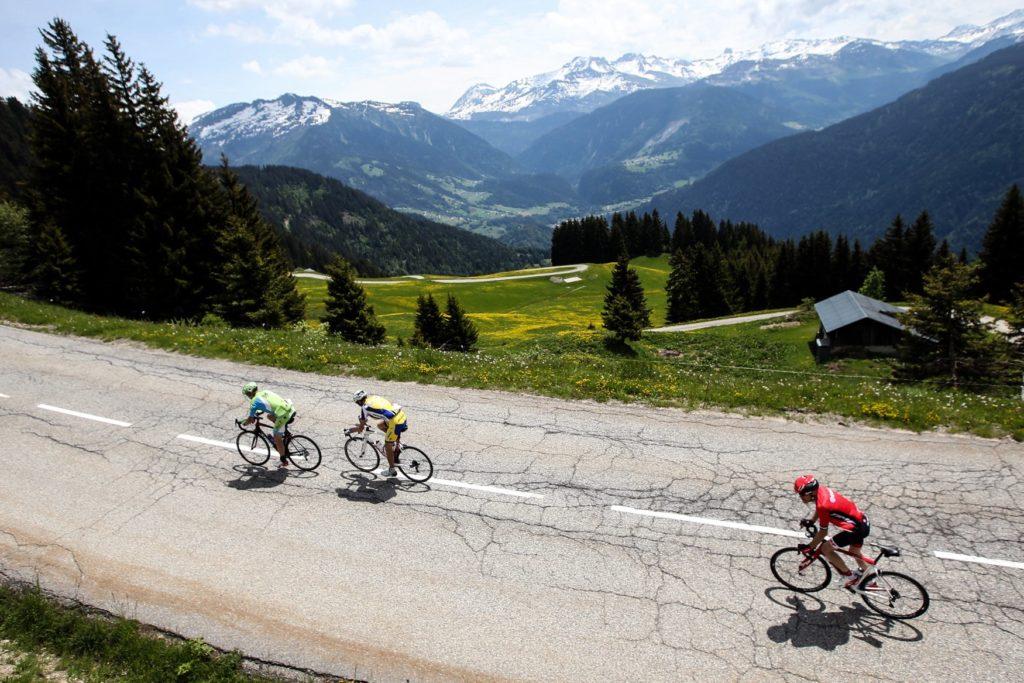 Cyclosportive Time Megève Mont-blanc
