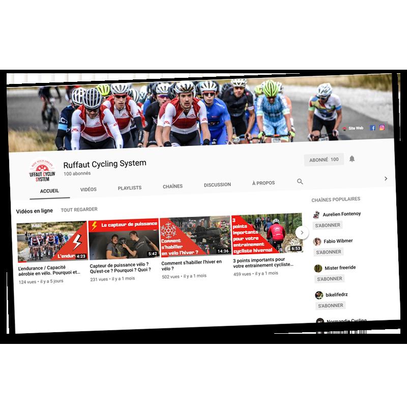 Chaîne Youtube ruffaut cycling system