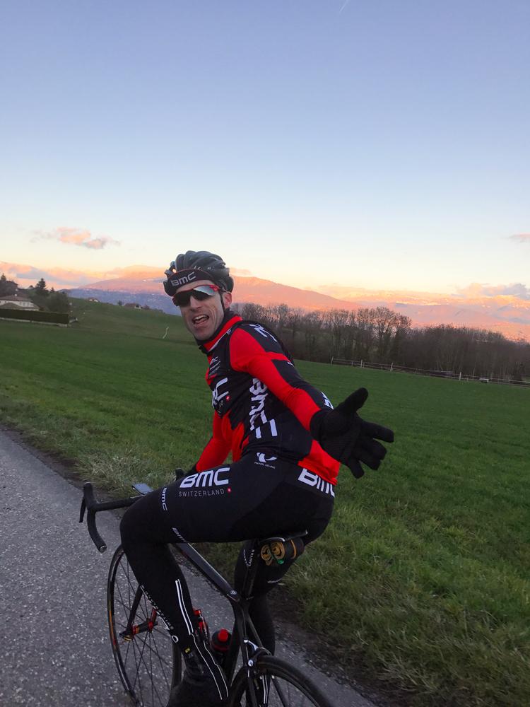 Entraînement vélo individuel
