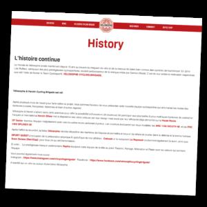 Histoire RCS