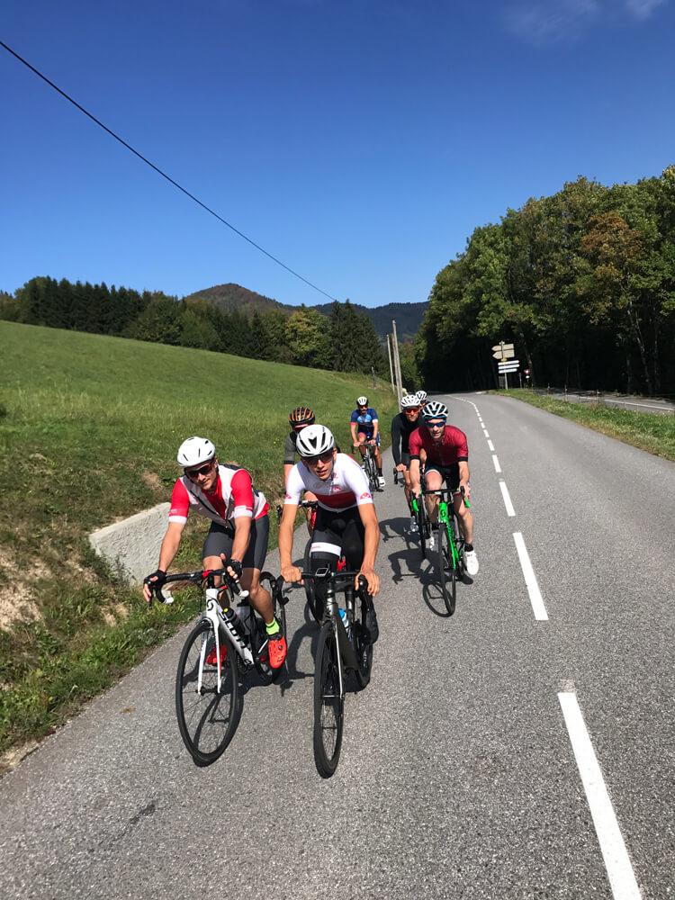 Stage de vélo en montagne