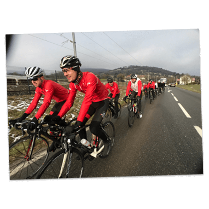 Tenues ruffaut cycling system