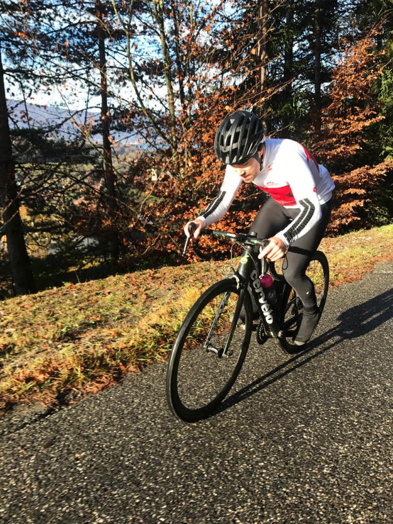 Test puissance vélo