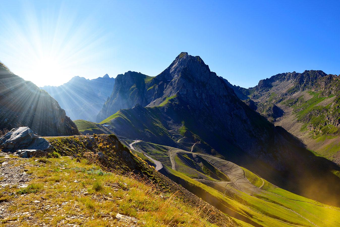 séjour pour cycliste dans les Pyrénées