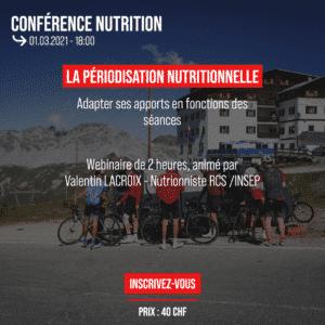 Conférence Nutrition : La périodisation nutritionnelle